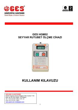 HGM02 KULLANIM KILAVUZU v5