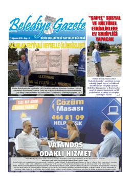 11 Ağustos 2015 - Didim Belediyesi