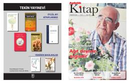 11 Eylül 2015 Aydınlık Gazetesi Kitap Eki okumak için görseli