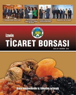 İzmir Ticaret Borsası`nda