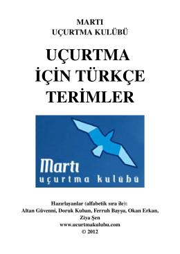Türkçe Uçurtma Terimleri