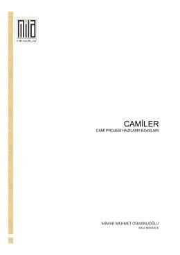 CAMİLER - Mila Cami Projeleri
