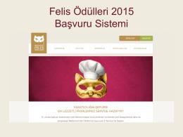 pdf indir - MediaCat Felis Ödülleri