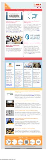TÜSEV e-bülten sayı 96, Ekim 2015