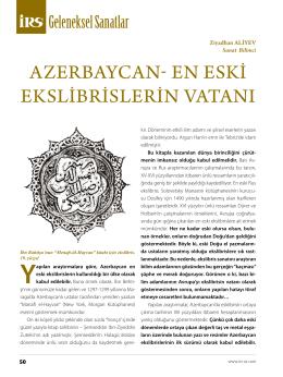 azerbaycan- en eskİ ekslİbrİslerİn VatanI