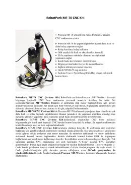 RobotPark MF-70 CNC Kiti