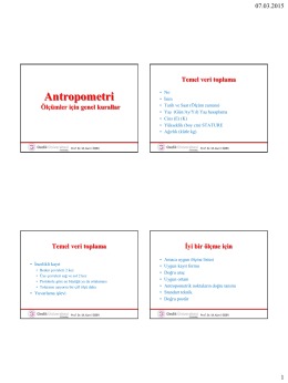 Antropometri - kamilozer.com