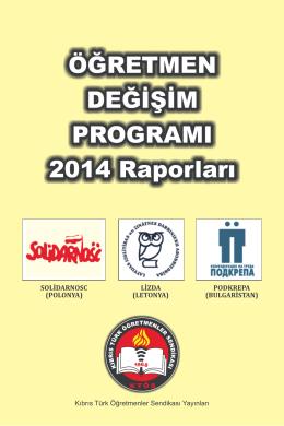 KTÖS Öğretmen Değişim Programı 2014