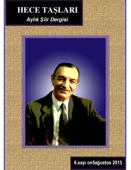hece taşları - Mehmet Pektaş