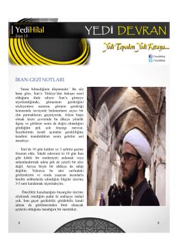 iran-gezi notları