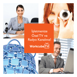 Workcube TV Broşürü