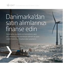 Danimarka`dan satın alımlarınızı finanse edin