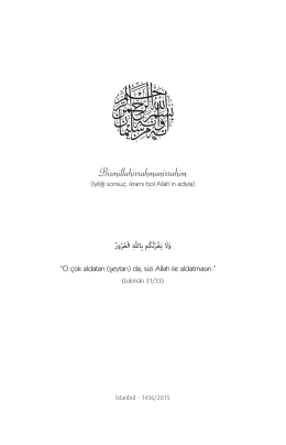 İndir - Süleymaniye Vakfı