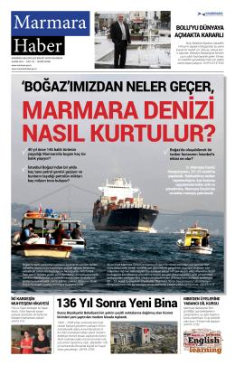 Kasım 2015 - Marmara Belediyeler Birliği