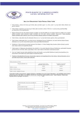 Borç Geri Ödemelerinde Taksit Öteleme (Mola) Talebi