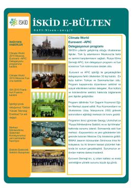 ISKID e-bülten 2015/N