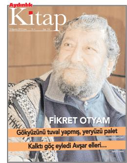 14 Ağustos 2015 Aydınlık Gazetesi Kitap Eki okumak için görseli