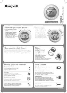 PDF Görüntüle - Honeywell Türkiye