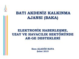 elektronik haberleşme, uzay ve havacılık sektöründe ar