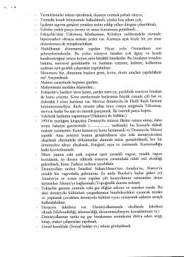 TCDD `ye Taslak Önerilerimden (2003)