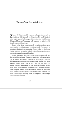 Zenon`un Paradoksları