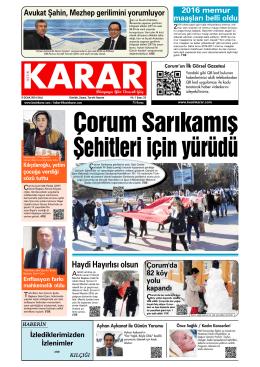 5 Ocak 2016.qxd - Kesin Karar Gazetesi