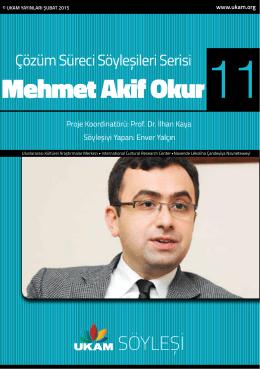 Mehmet Akif Okur - Uluslararası Kültürel Araştırmalar Merkezi