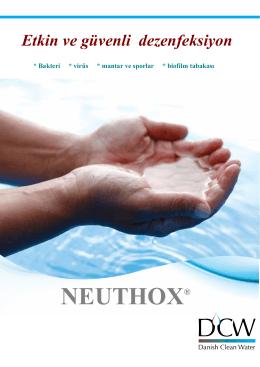Etkin ve güvenli dezenfeksiyon