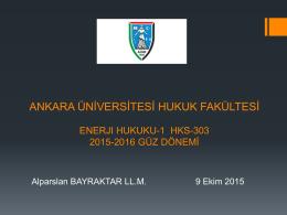 2.Hafta - Ankara Üniversitesi Hukuk Fakültesi