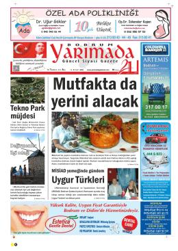 SALI - Yarımada Gazetesi