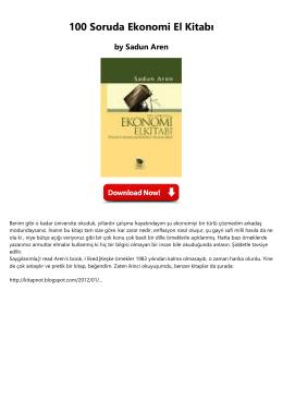 100 Soruda Ekonomi El Kitab1