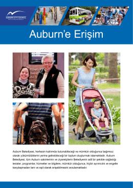 Auburn`e Erişim - Auburn Council