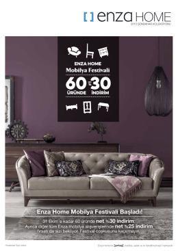 Enza Home Mobilya Festivali Başladı!