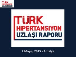 Uzlaşı Raporu - Türk Nefroloji Derneği
