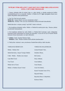 diyanet işleri başkanlığı - İsviçre Türk Diyanet Vakfı