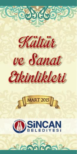 MART 2015 - Sincan Belediyesi
