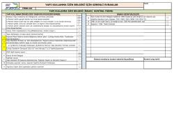 yapı kullanma izin belgesi için gerekli evraklar