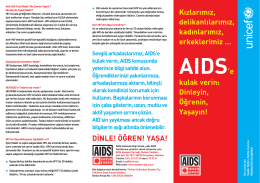 AIDS`e Kulak Verin