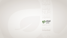 e-katalog - Arkad Yapı