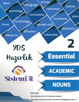YDS Academic Nouns-2