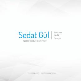 E-Katalog - Sedat Gül