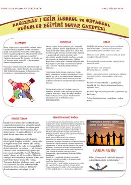 Duvar Gazetesi - KAĞIZMAN