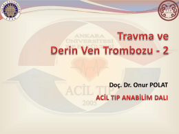 travma ve derin ven trombozu 2