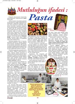 Pasta - Anadolu