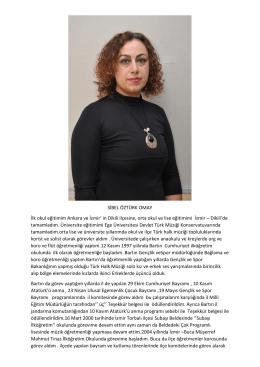 Sibel ÖZTÜRK OMAY - Mehmet Akif Ersoy Anadolu Öğretmen Lisesi