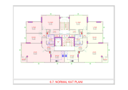 6.7. normal kat planı