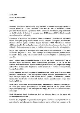 (22.08.2015) 5 - Ordu Ticaret Borsası