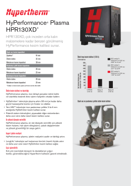 HyPerformance® Plasma HPR130XD®