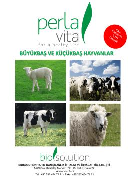Perla Vita Etkin Mikroorganizma Buyuk ve Kucuk Bas Hayvanlarda