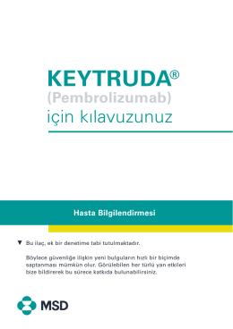 KEYTRUDA - MSD Sharp & Dohme GMBH